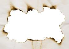 Burnt frame Stock Images