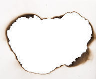 Burnt frame Stock Photography