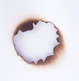 Burnt hole Stock Photos