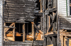 Burnt House Stock Image