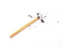 Burnt i nieużywani matchsticks Zdjęcia Stock