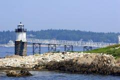 Free Burnt Island Lighthouse Stock Photo - 2696170