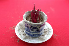 Burnt Joss Stick Royalty Free Stock Photos