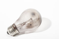 Burnt light bulb Royalty Free Stock Photo
