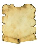 Burnt manuscript Royalty Free Stock Photos