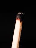 Burnt match Stock Photography