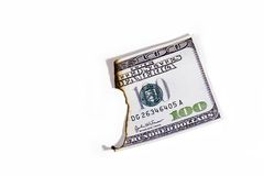 Burnt Money Royalty Free Stock Images