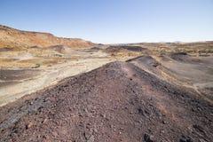 The Burnt Mountain, in Damaraland, Namibia. Stock Photography