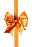Burnt orange bow photo Stock Photos