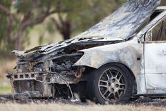 Burnt Out Car Stock Images