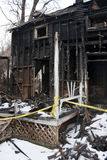Burnt out domowy Zdjęcie Stock