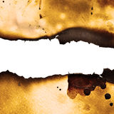 Burnt paper background Royalty Free Stock Photography