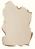 Burnt paper Stock Photo