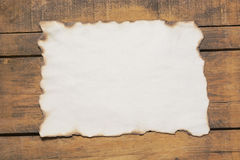 Burnt paper Royalty Free Stock Photo