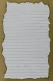 Burnt papier Obrazy Royalty Free