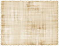 Burnt Parchment Sheet. Ancient Parchment Sheet With Burnt Edges Royalty Free Stock Photo