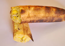 Burnt plantain Stock Image