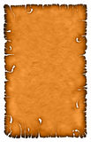Burnt sheet with texture Royalty Free Stock Photo