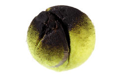 Burnt Tennis Ball Royalty Free Stock Images