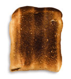 Burnt Toast Royalty Free Stock Photos