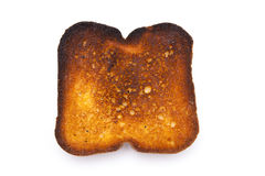 Burnt toast Royalty Free Stock Images