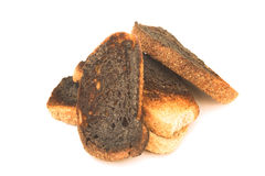 Burnt toast Royalty Free Stock Photo