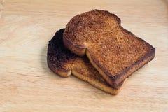 burnt toast Στοκ Εικόνα