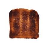 Burnt toast Stock Photography