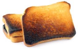 Burnt Toast Stock Image