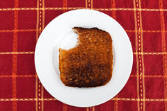 Burnt Toast Royalty Free Stock Image