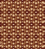 Burnt umber celtic knot background. Abstract burnt umber celtic knot triquetra background Stock Images