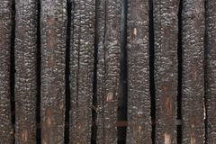 Burnt wood Royalty Free Stock Images