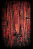 Burnt wooden background Stock Photography