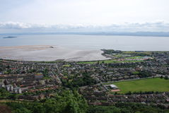 Burntisland and Forth Estuary Royalty Free Stock Photo