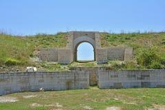 Burnum Archaeological Site Stock Photo