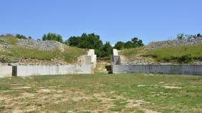 Burnum Archeologische Plaats Royalty-vrije Stock Fotografie