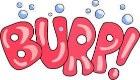 BURP! Royalty Free Stock Photo
