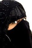 burqa注视绿色 库存图片