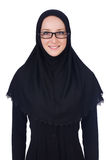Γυναίκα με το μουσουλμανικό burqa Στοκ εικόνες με δικαίωμα ελεύθερης χρήσης