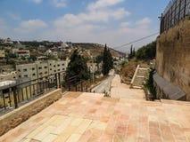 Burqin, Arabische gebieden in Palestina Royalty-vrije Stock Foto's
