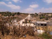 Burqin, arabische Gebiete in Palästina Stockfotografie