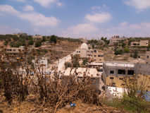Burqin, territori arabi in Palestina Fotografia Stock