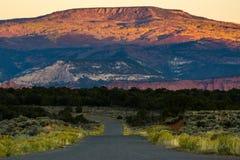 Burr ślad - Utah zdjęcia stock