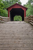 Burr Arch Covered Bridge Stock Images