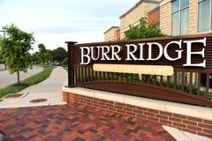 Burr grań, Illinois, usa, usa - Czerwiec 07, 2018: Burr grani willa Obrazy Stock