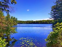 Free Burr Pond State Park Summer View Stock Image - 96056811