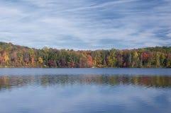 Burr Pond State Park Torrington le Connecticut image libre de droits