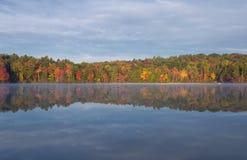 Burr Pond State Park Torrington le Connecticut photo libre de droits