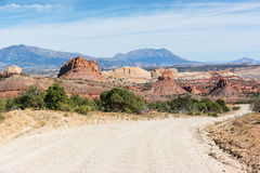 Burr Trail Road Stock Photo