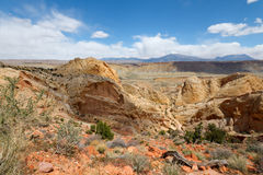 Burr Trail Switchbacks Royalty Free Stock Photo